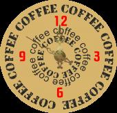 Cafea 3 [sticker ceas]