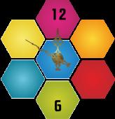 Fagure multicolor [sticker ceas]