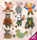 Set stickere - animale dragute v2