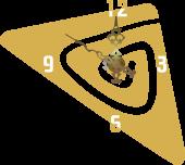 Triunghi [sticker ceas]