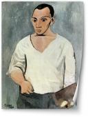 Autoportret cu sevalet - Picasso