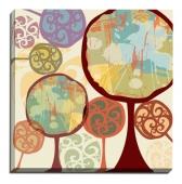 Copaci abstracţi v3