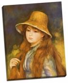 Fata cu pălărie de paie