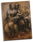Fecioara Maria si copil cu Sf. Ioan Botezatorul