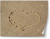 Inimă pe nisip