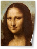Mona Lisa - prim plan