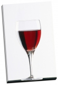 Pahar cu vin rosu