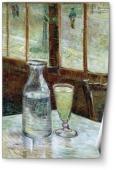 Pahar de absint si carafă