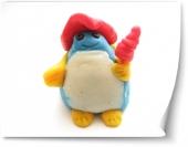 Plastilina pinguin