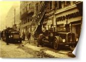 Pompieri din vechiul Bucureşti