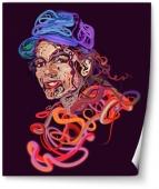 Portret colorat Michael Jackson