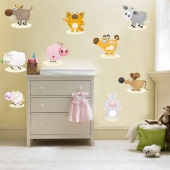 Set stickere - animale domestice