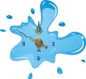 Splash 5 [sticker ceas]