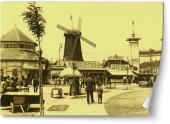 Târg din Bucureştiul vechi